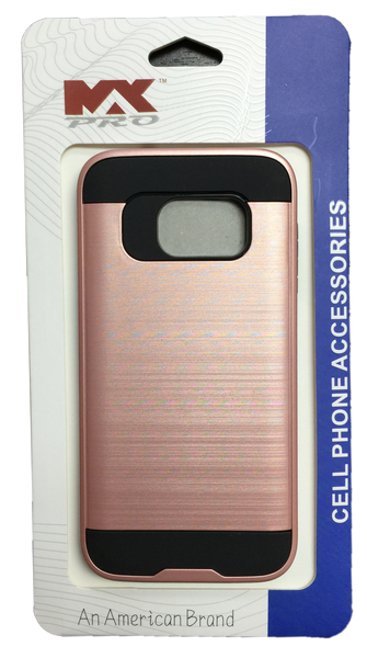Samsung Galaxy S7 Metallic Color Case ROSE GOLD