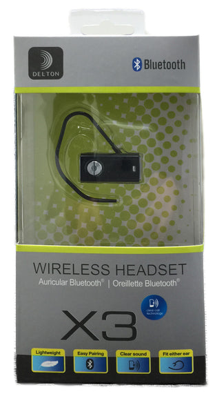 Wireless Bluetooth Headset (Delton X3)