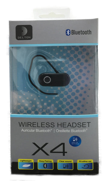 Wireless Bluetooth Headset (Delton X4)