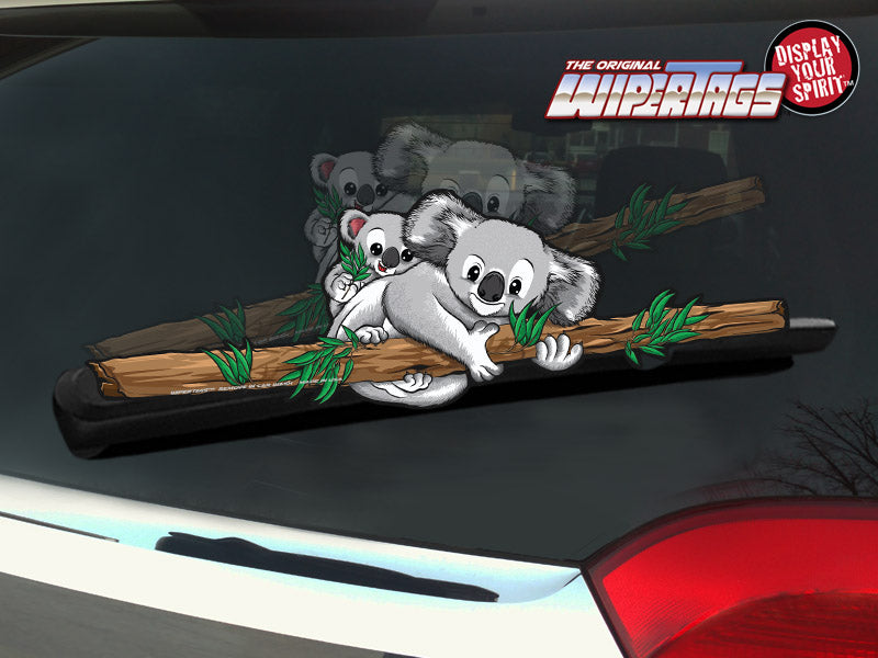 Rear Window Wiper Decal