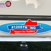 Kentucky #120STRONG Teachers WiperTags