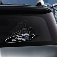Active Shutter Camera WiperTags for photographers attach to rear wiper blades