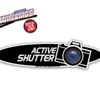 Active Shutter Photography WiperTags