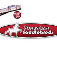 Horses American Saddlebreds WiperTags