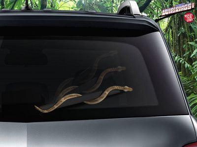 Snake on a Wiper WiperTags - Copper