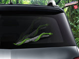 Snake on a Limb WiperTags - Green