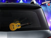 Acoustic classic guitar WiperTag attaches to rear wiper blades