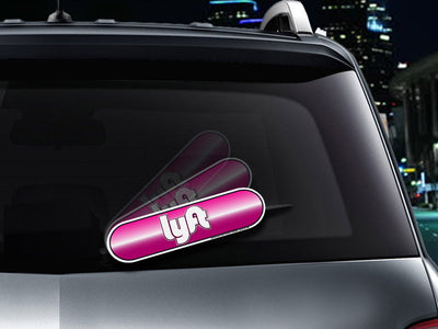 LYFT Oval Driver WiperTags