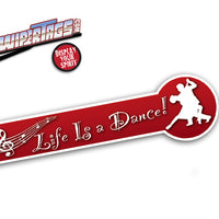 Life is a Dance WiperTags