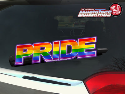 PRIDE RAINBOW WiperTags