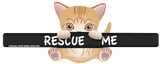 "Rescue Me ""Maisy"" Kitten WiperWag"