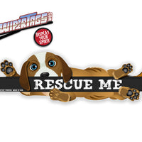"Rescue Me ""Blue"" WiperWag"
