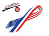 USA Flag Ribbon WiperTag