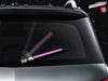 Purple WiperTags light saber wiper blade cover for vehicle