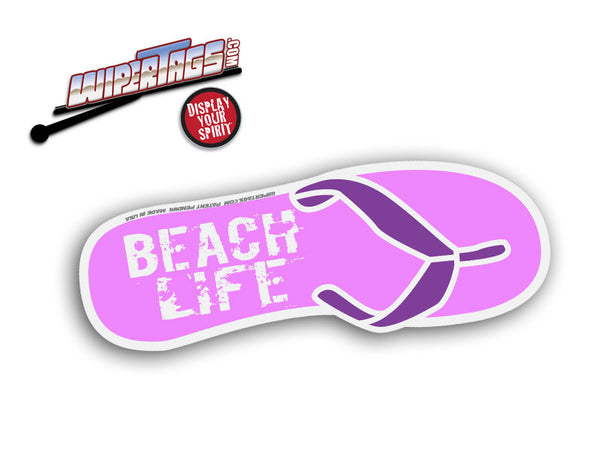 Beach Life Sandal WiperTags