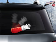 Waving Santa Arm WiperTags