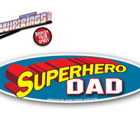 Superhero Dad WiperTag