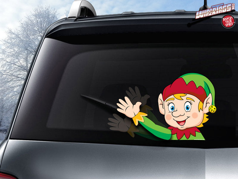 Eddie the Elf Arm Waving WiperTag + Decal