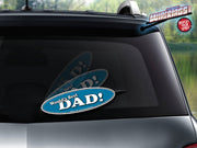 World's Best Dad WiperTag