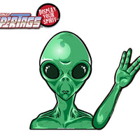 Alien Waving WiperTags