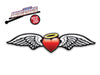 Angel Wings Heart WiperTags