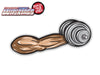 Arm Curling Dumbbell WiperTag