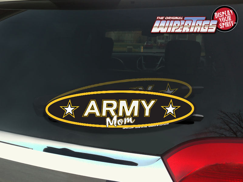 Army Mom WiperTags
