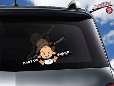 Baby on Board (3 Skin Tones)