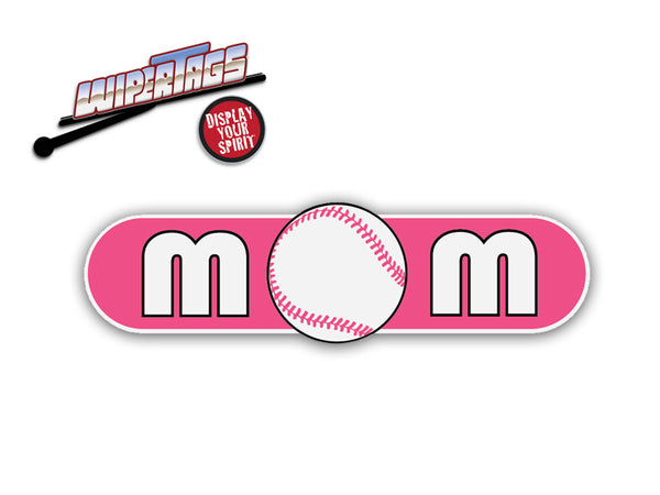 Baseball Mom WiperTags