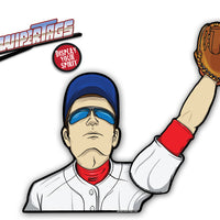 Baseball Player WiperTag with Decal