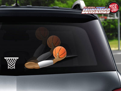 Slam Basketball Arm WiperTag with Net Decal