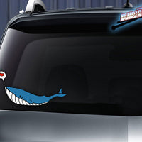 Beatrice the Whale WiperTags & Decals
