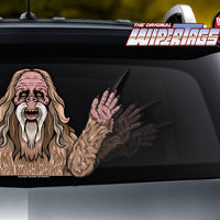 Bigfoot Sasquatch Waving WiperTags