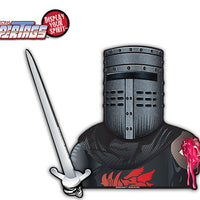 Black Knight Waving Sword WiperTags