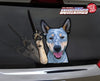 "Blue Heeler ""Shiloh"" Waving Dog WiperTags"