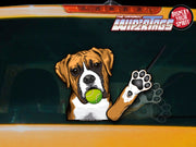 Ike the Waving Boxer WiperTags
