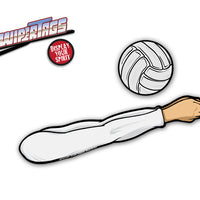 Bump Set Volleyball WiperTags