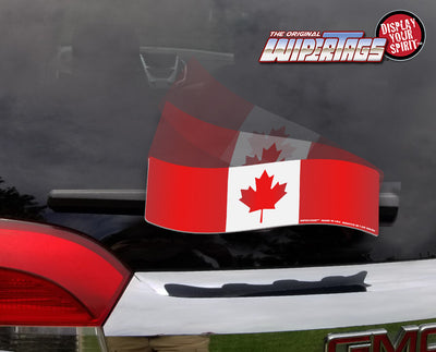 Canadian Maple Leaf Flag WiperTag