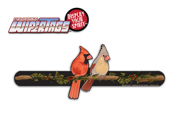 Cardinal Birds WiperTags