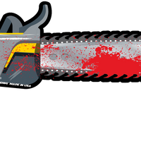 Gory Chainsaw WiperTags