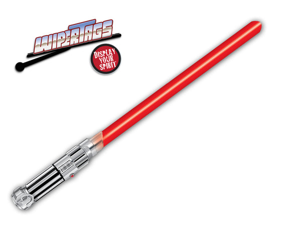 DarkForce Red Saber WiperTag (non-reflective)