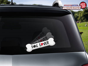 Dog Lover Bone WiperTag