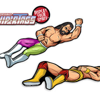 Elbow Drop Wrestling WiperTags
