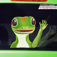 Gecko Waving WiperTags