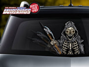 Grim Reaper with Scythe WiperTags