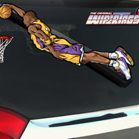 Flying G.O.A.T. Basketball Dunk WiperTag