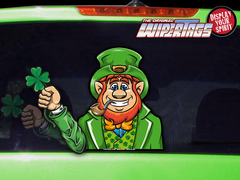 Lucky Leprechaun WiperTags