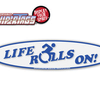 Life Rolls On! Handicap WiperTags