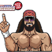 Macho Man Wrestler WiperTags