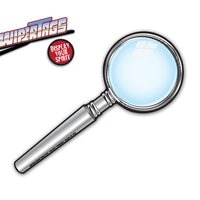 Inspector Magnifying Glass WiperTags